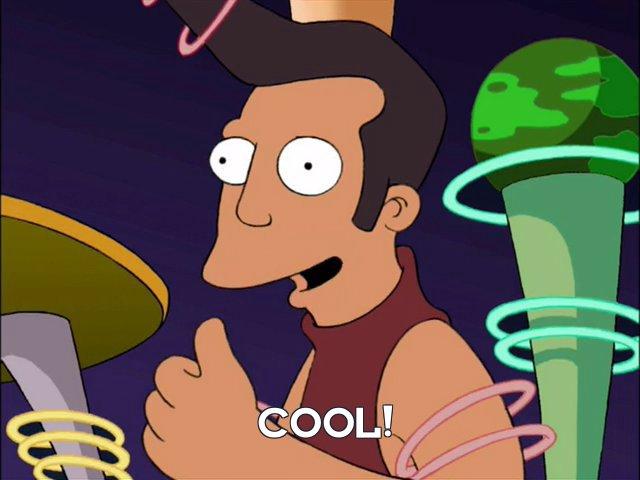Man: Cool!