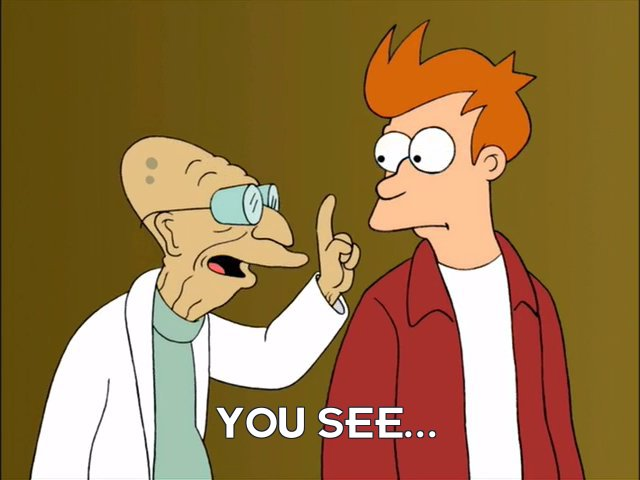 Prof Hubert J Farnsworth: You see...