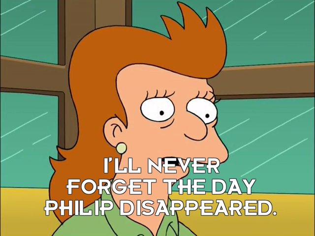 Fry's mother: I'll never forget the day Philip disappeared.