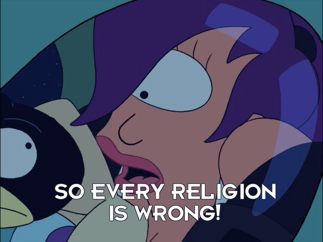 Turanga Leela: So every religion is wrong!