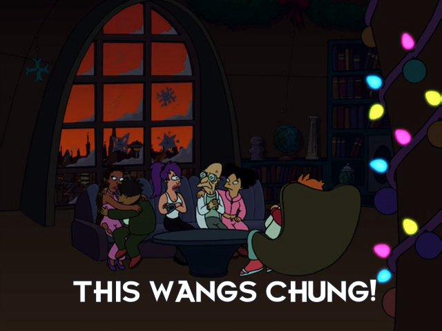Turanga Leela: This wangs chung!