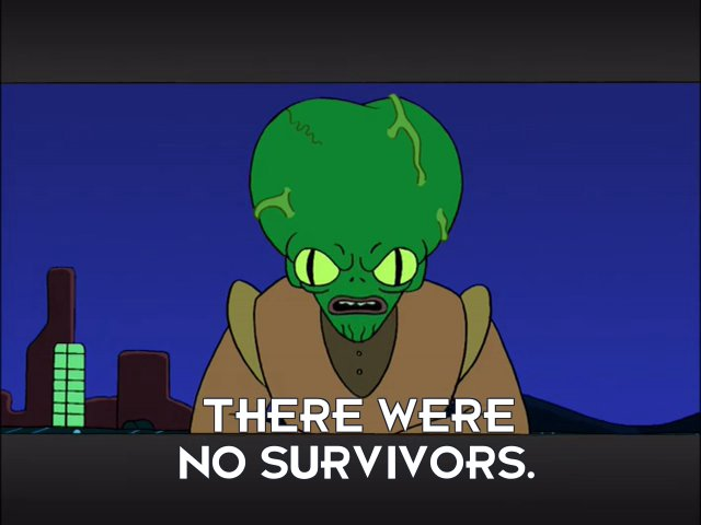 Morbo: There were no survivors.