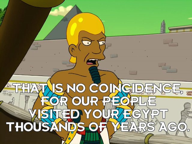 Osiran: That is no coincidence, for our people visited your Egypt thousands of years ago.