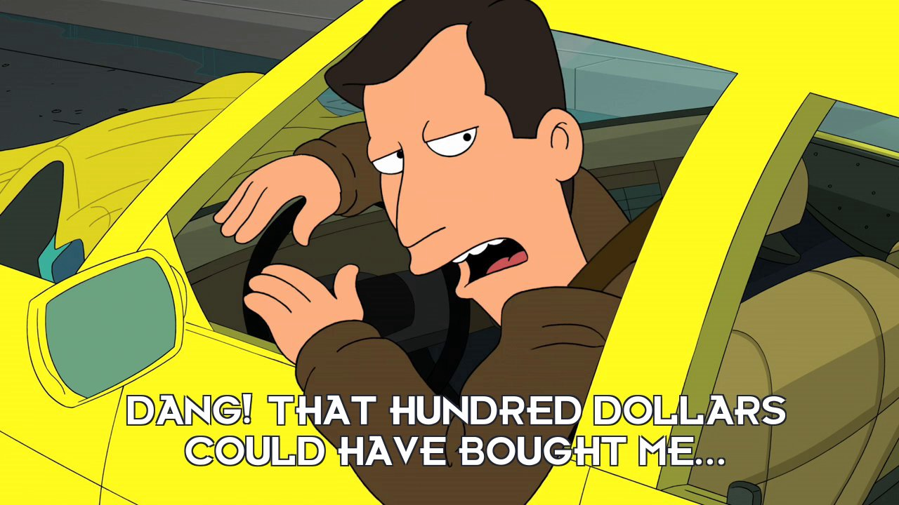 Al Gore: Dang! That hundred dollars could have bought me...