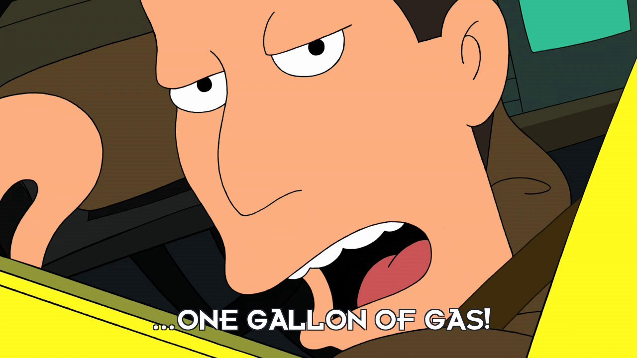 Al Gore: ...one gallon of gas!