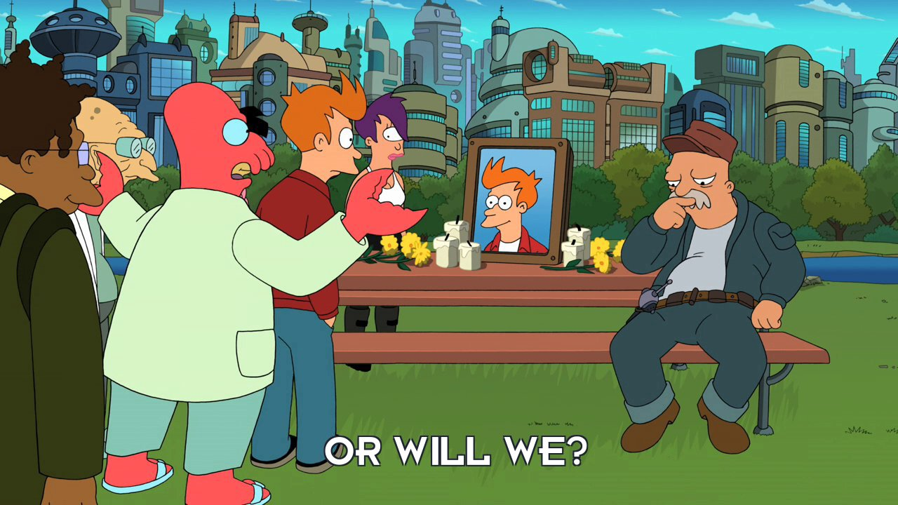 Dr John A Zoidberg: Or will we?