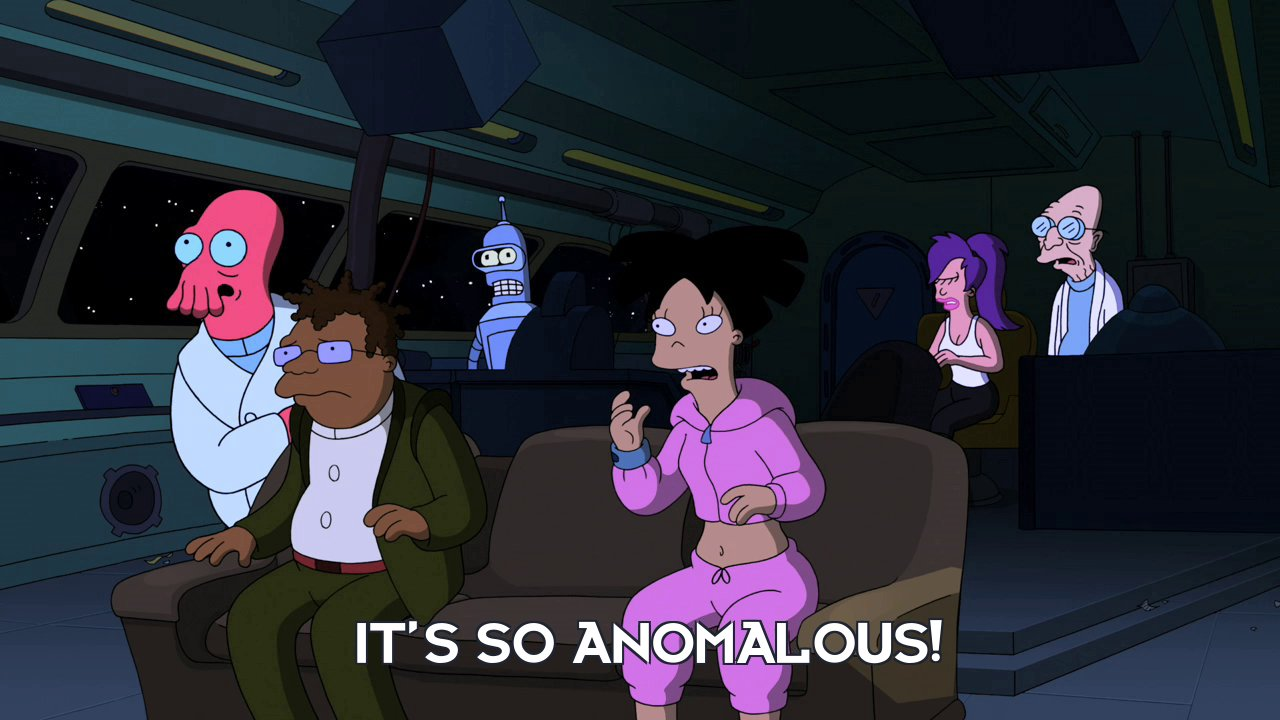 Amy Wong: It's so anomalous!