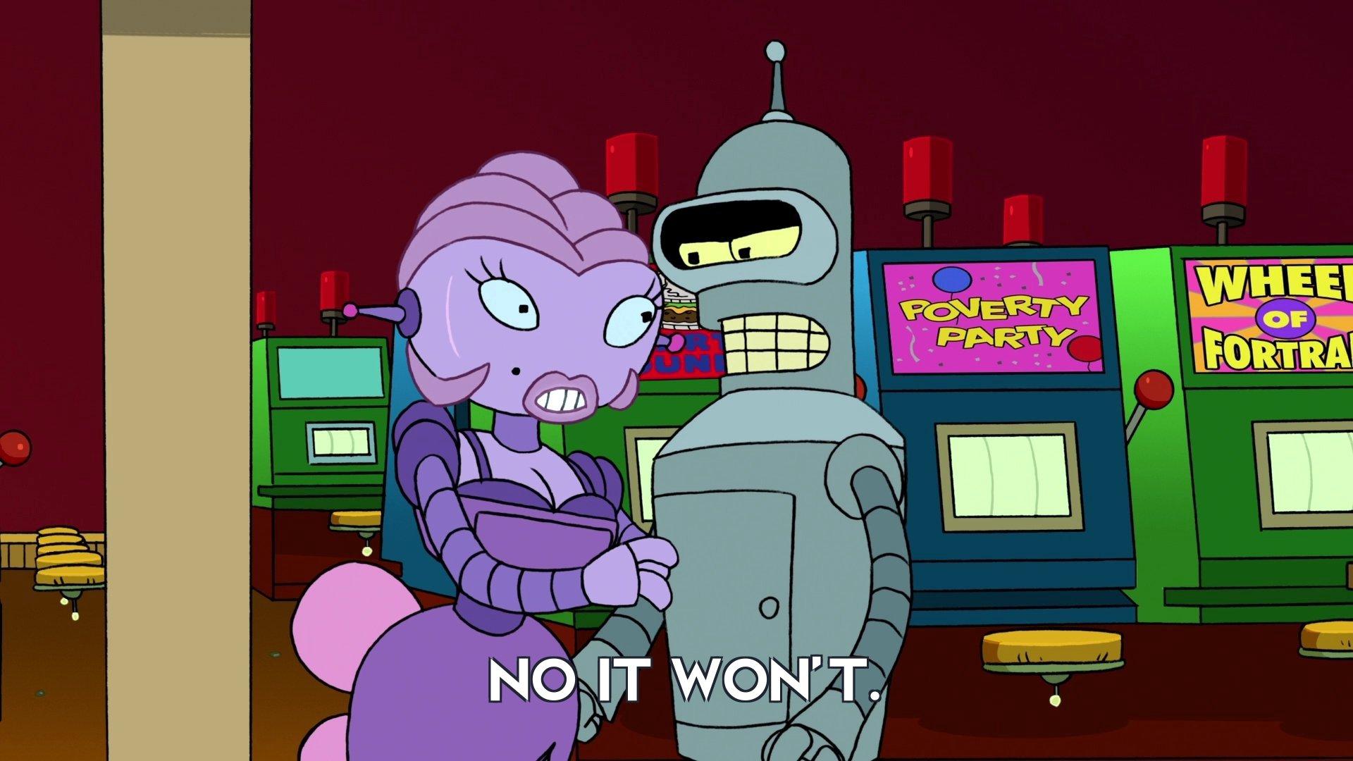 Fanny: No it won't.