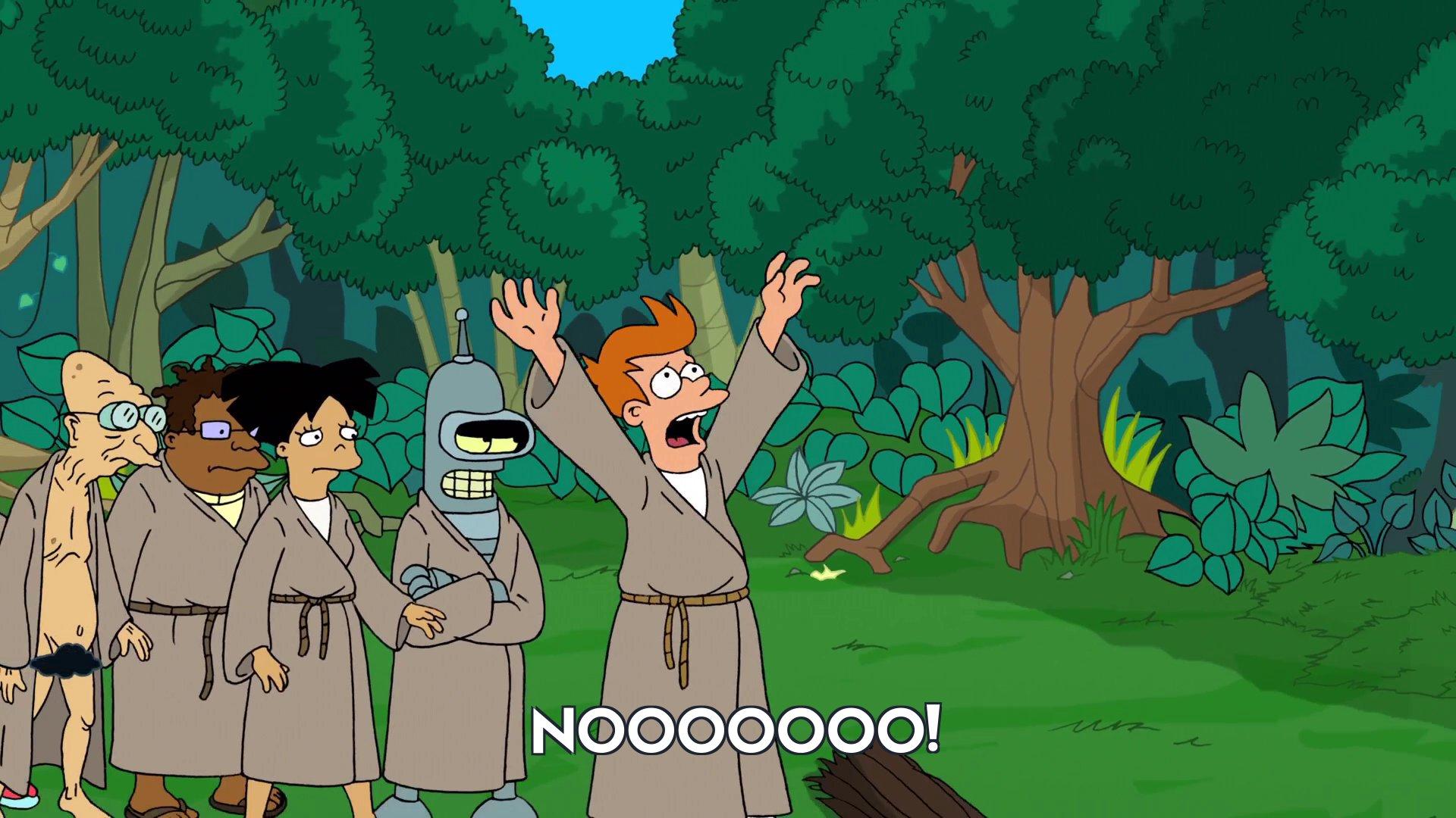 Philip J Fry: Nooooooo!