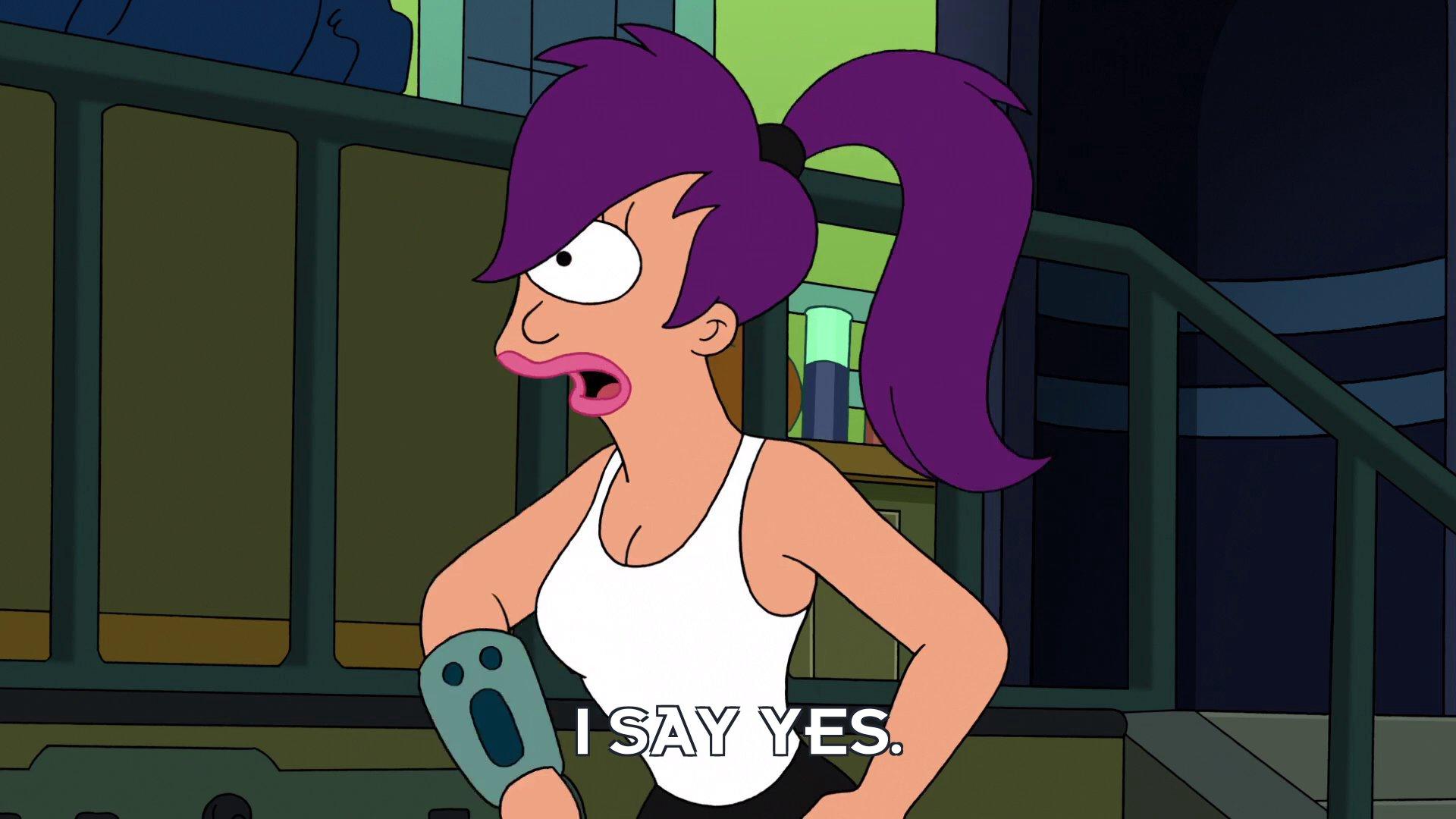 Turanga Leela: I say yes.