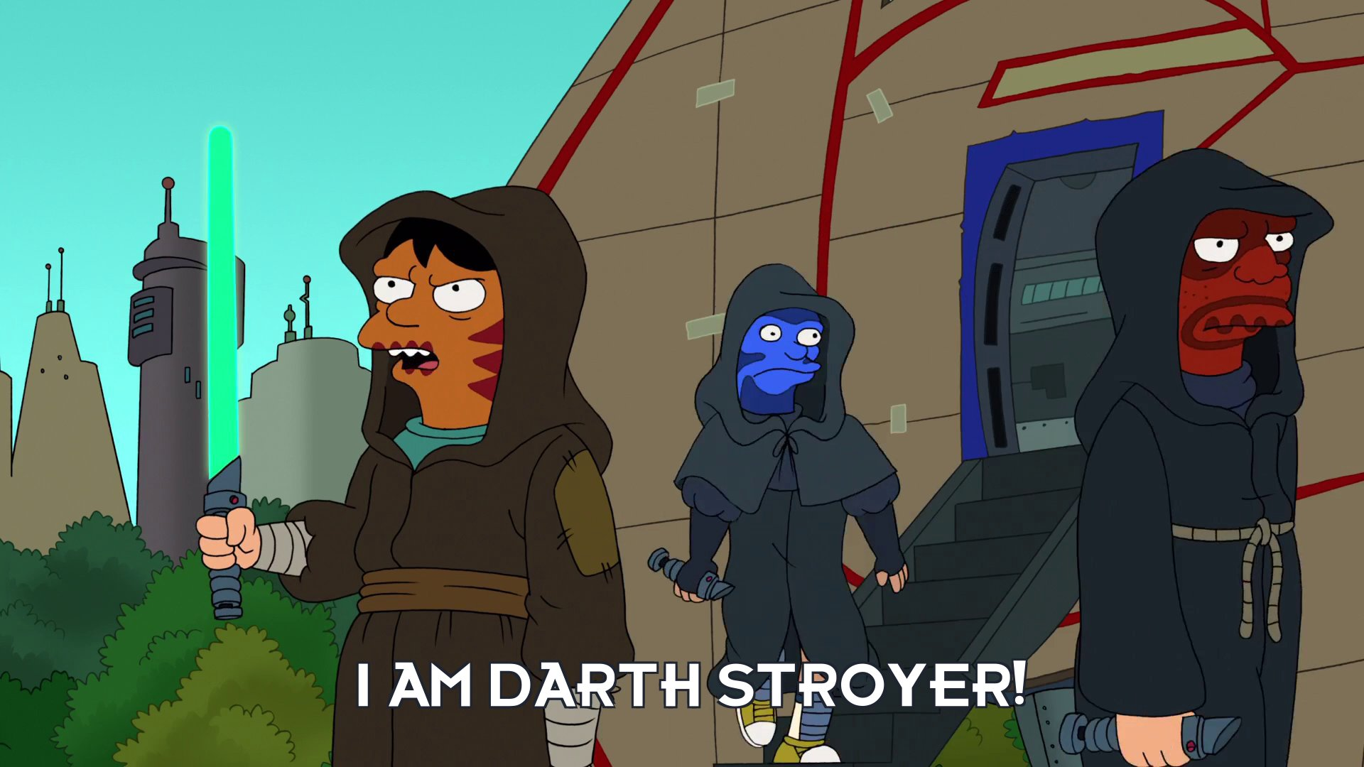 Darth Stroyer: I am Darth Stroyer!