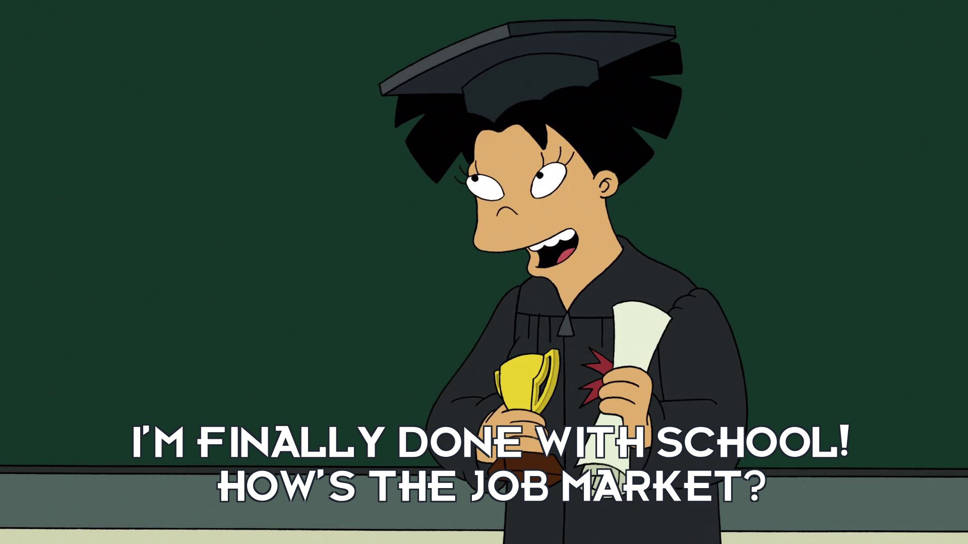 Amy Wong: I'm finally done with school! How's the job market?