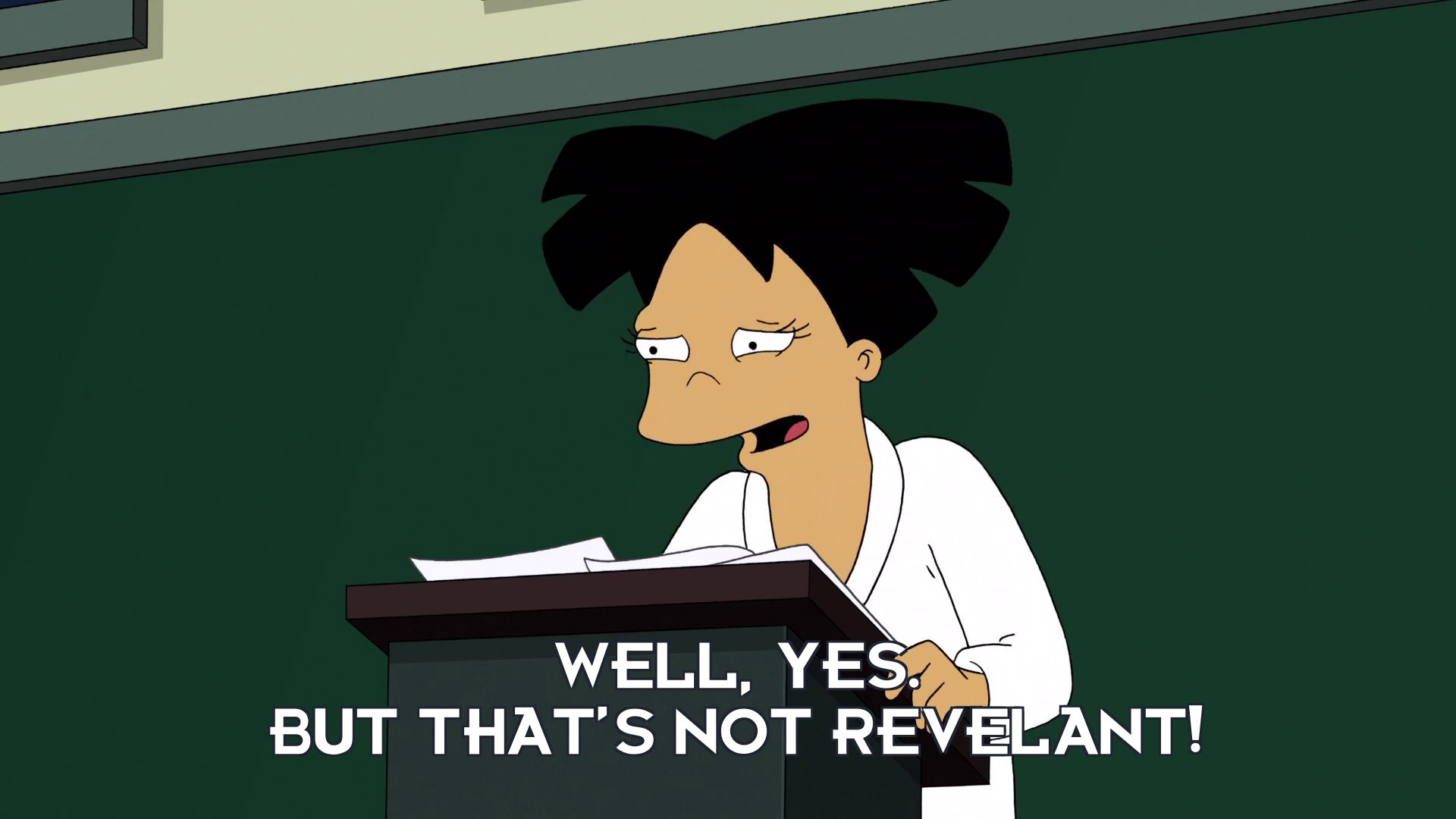 Amy Wong: Well, yes. But that's not revelant!