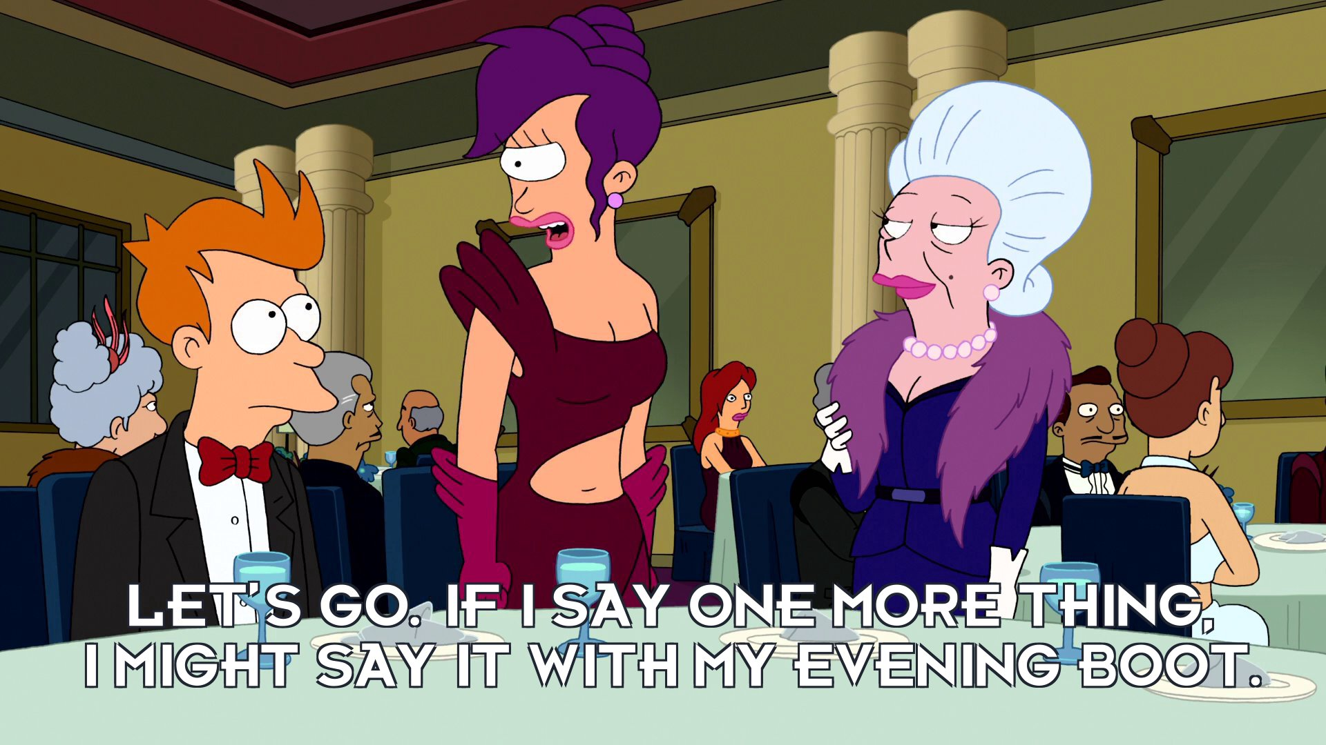Turanga Leela: Let's go. If I say one more thing, I might say it with my evening boot.