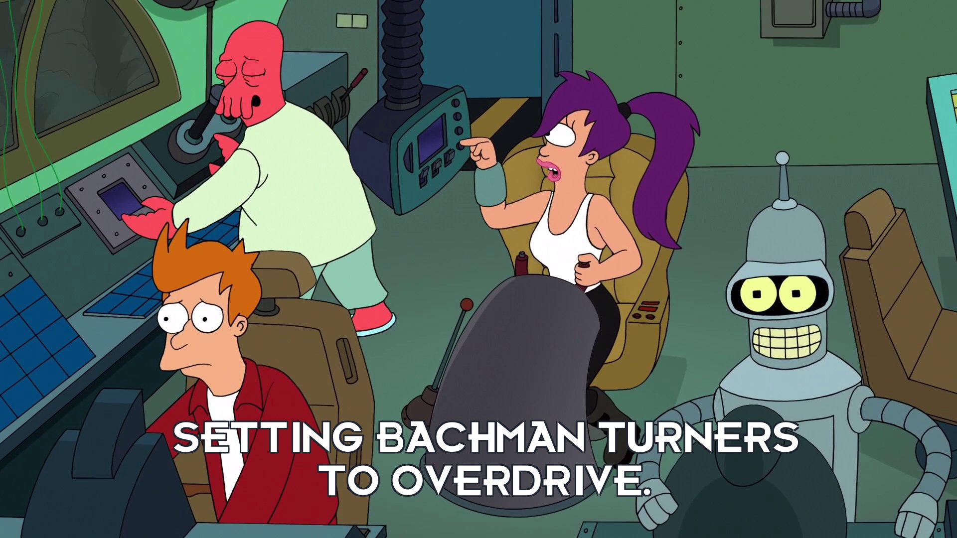 Turanga Leela: Setting Bachman turners to overdrive.