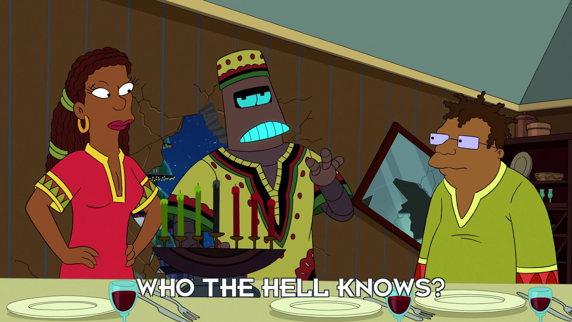 Kwanzaabot: Who the hell knows?