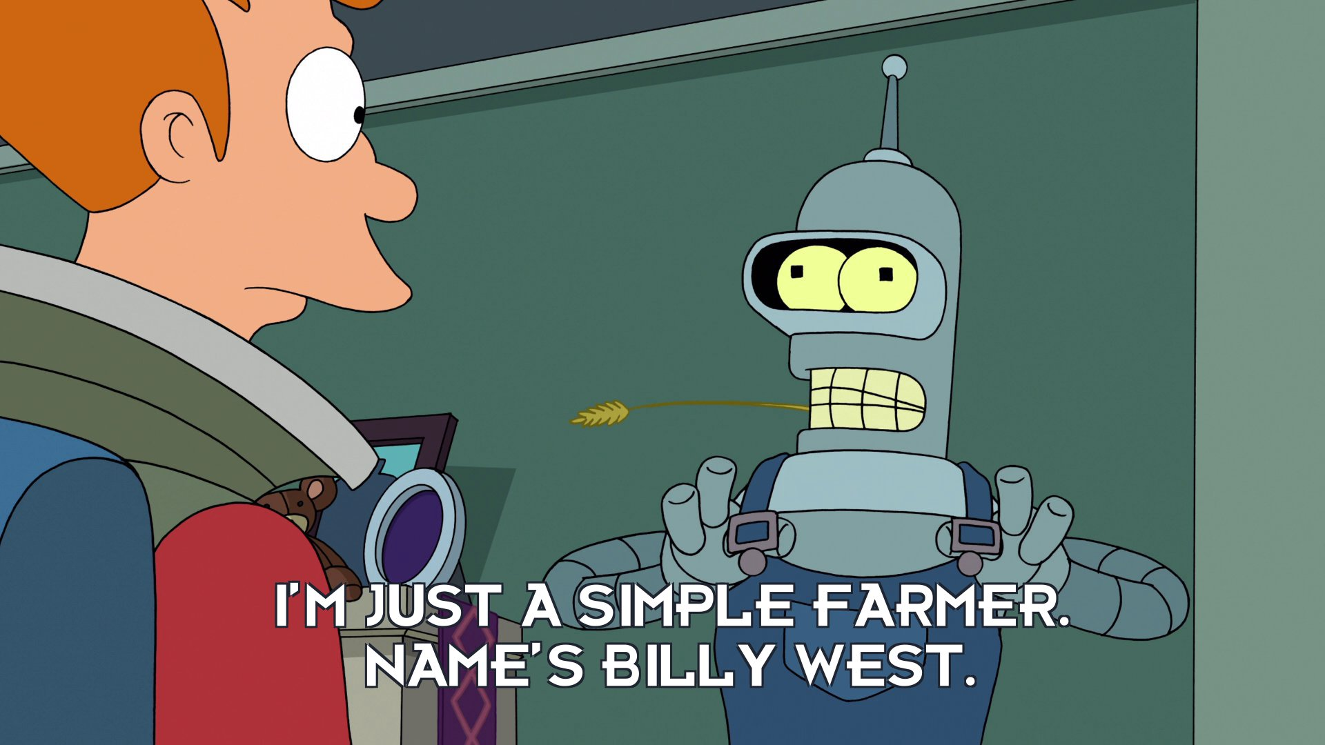 Billy West: I'm just a simple farmer. Name's Billy West.