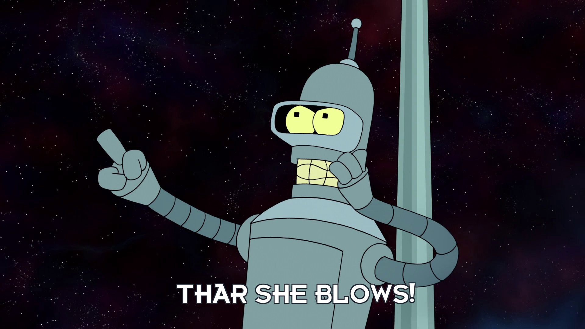 Bender Bending Rodriguez: Thar she blows!