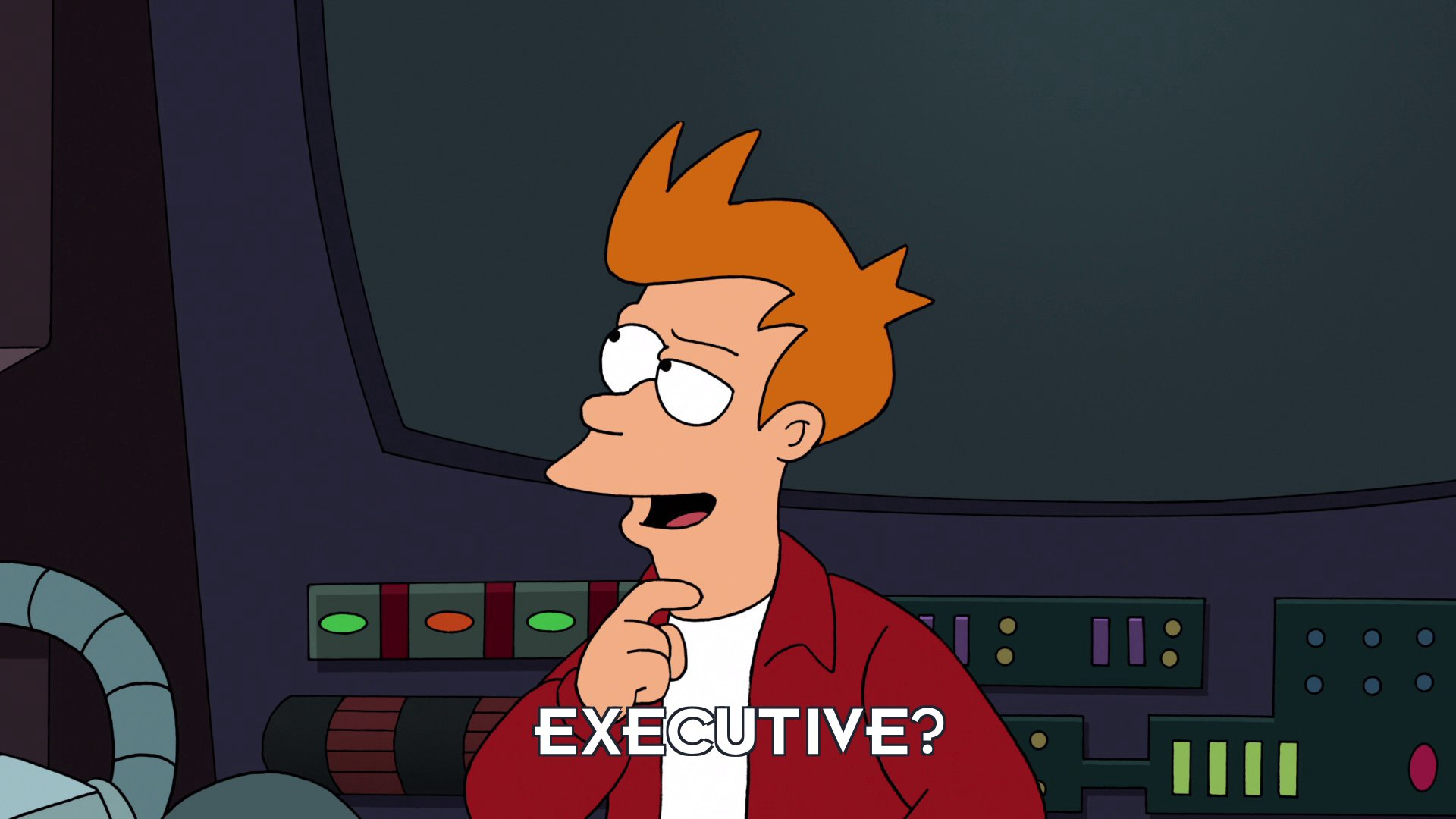 Philip J Fry: Executive?