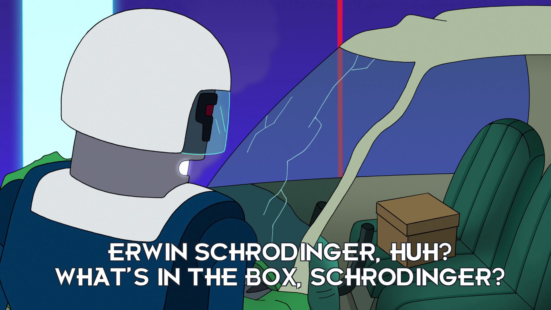 URL: Erwin Schrödinger, huh? What's in the box, Schrödinger?