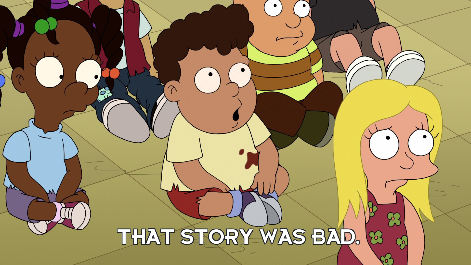 Albert: That story was bad.
