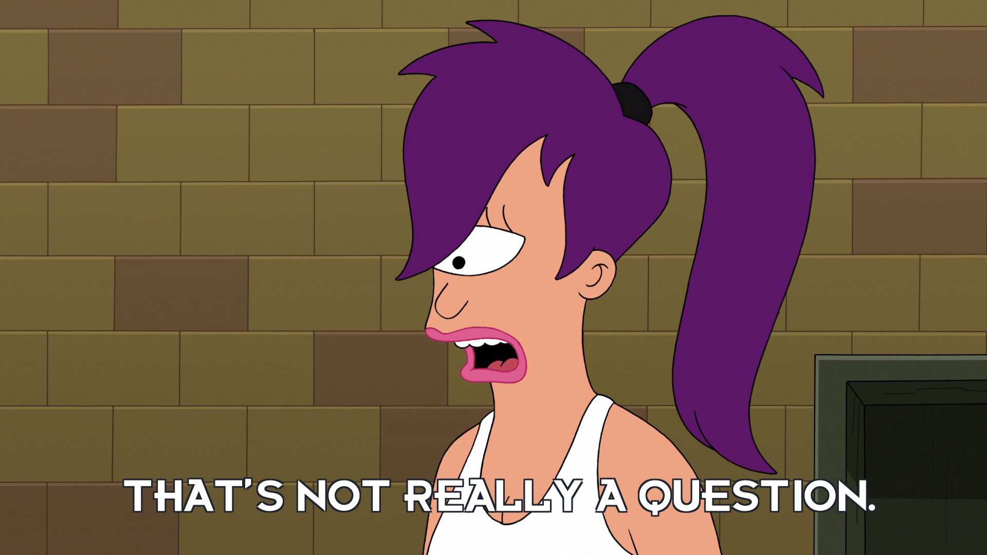 Turanga Leela: That's not really a question.