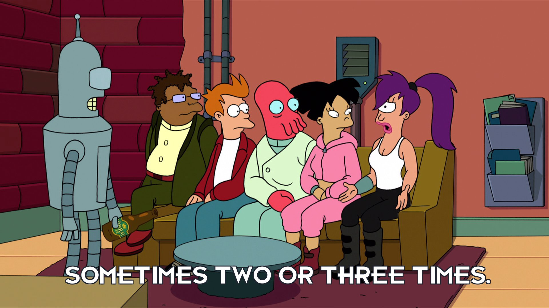Turanga Leela: Sometimes two or three times.