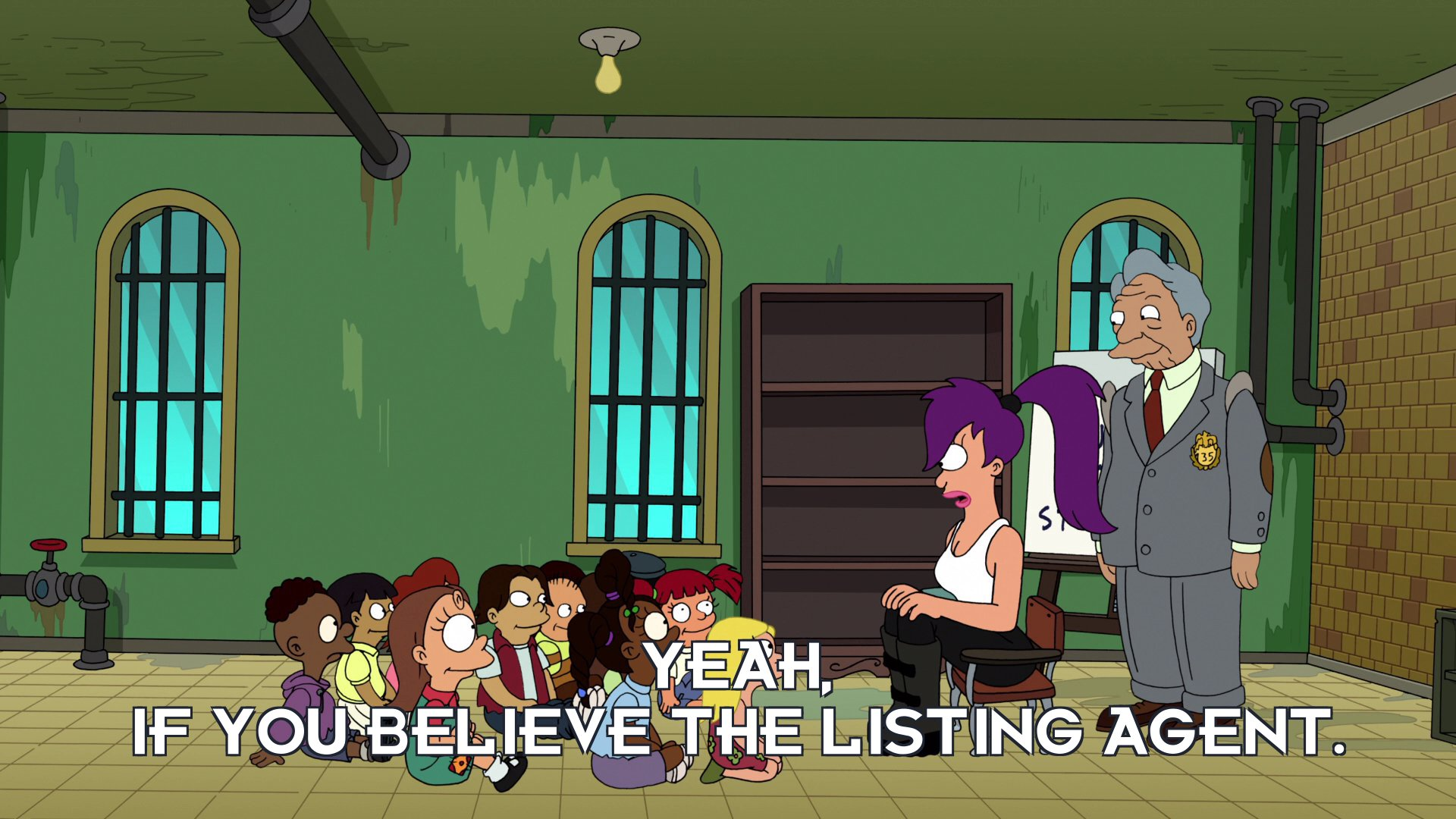 Turanga Leela: Yeah, if you believe the listing agent.