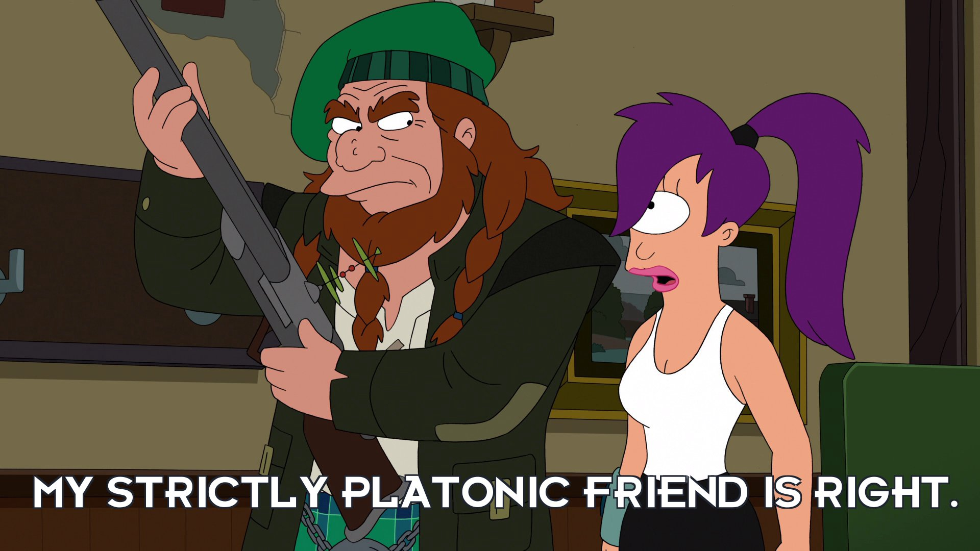 Turanga Leela: My strictly platonic friend is right.