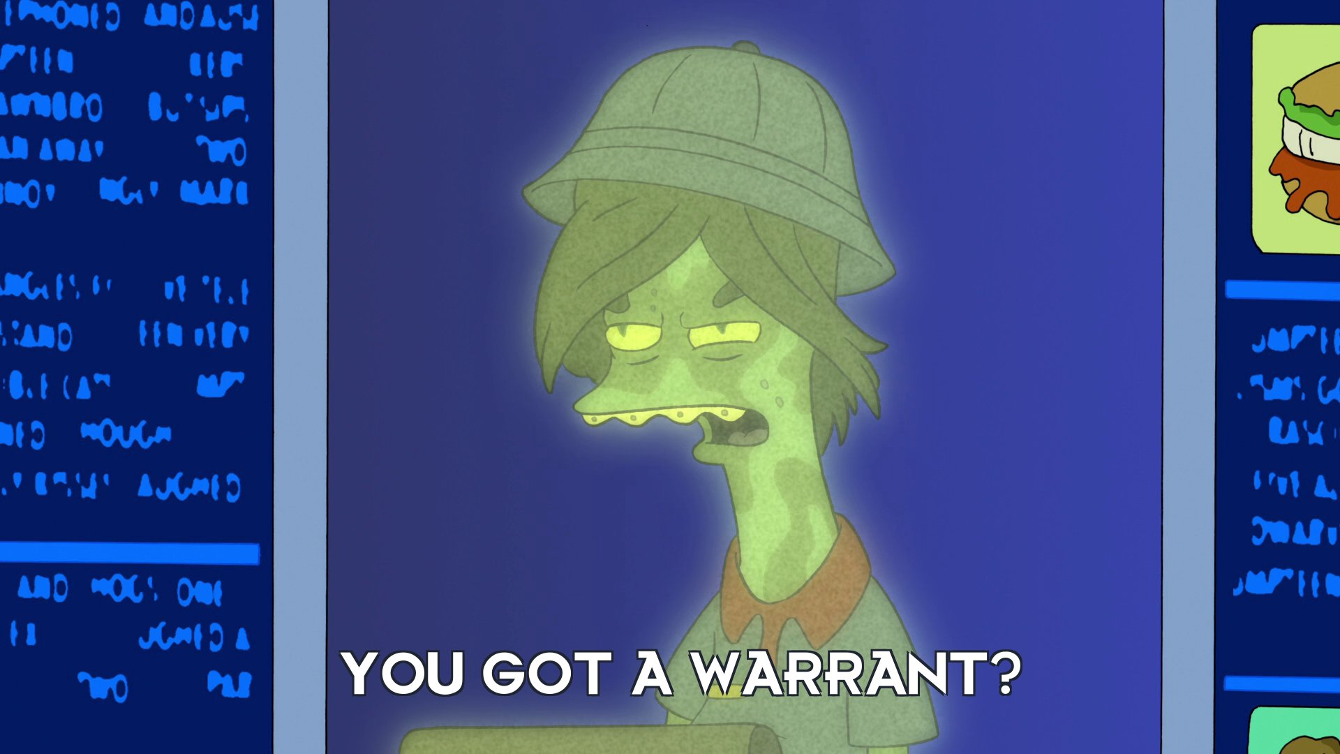 Teenager: You got a warrant?
