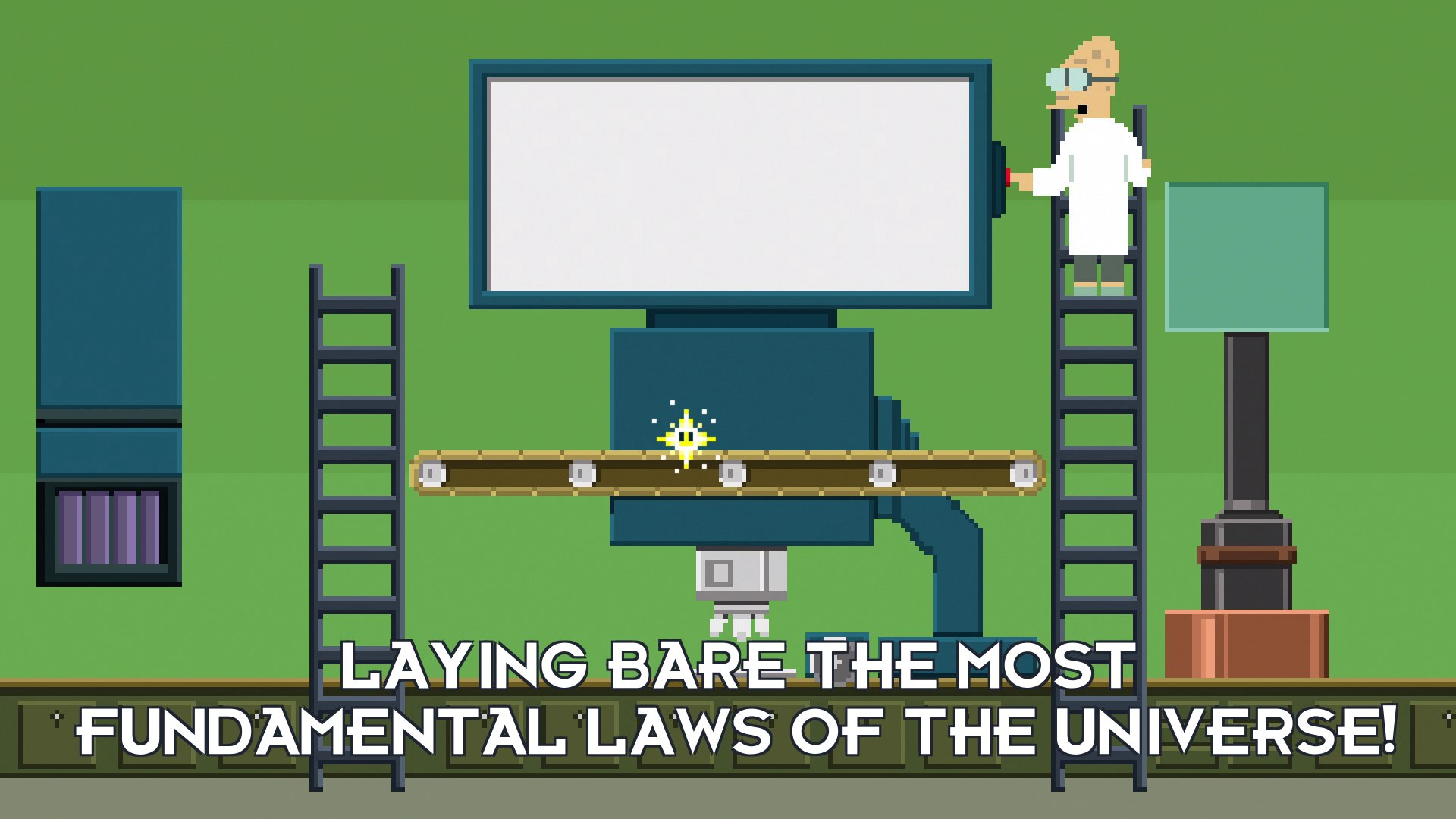 Prof Hubert J Farnsworth: Laying bare the most fundamental laws of the Universe!