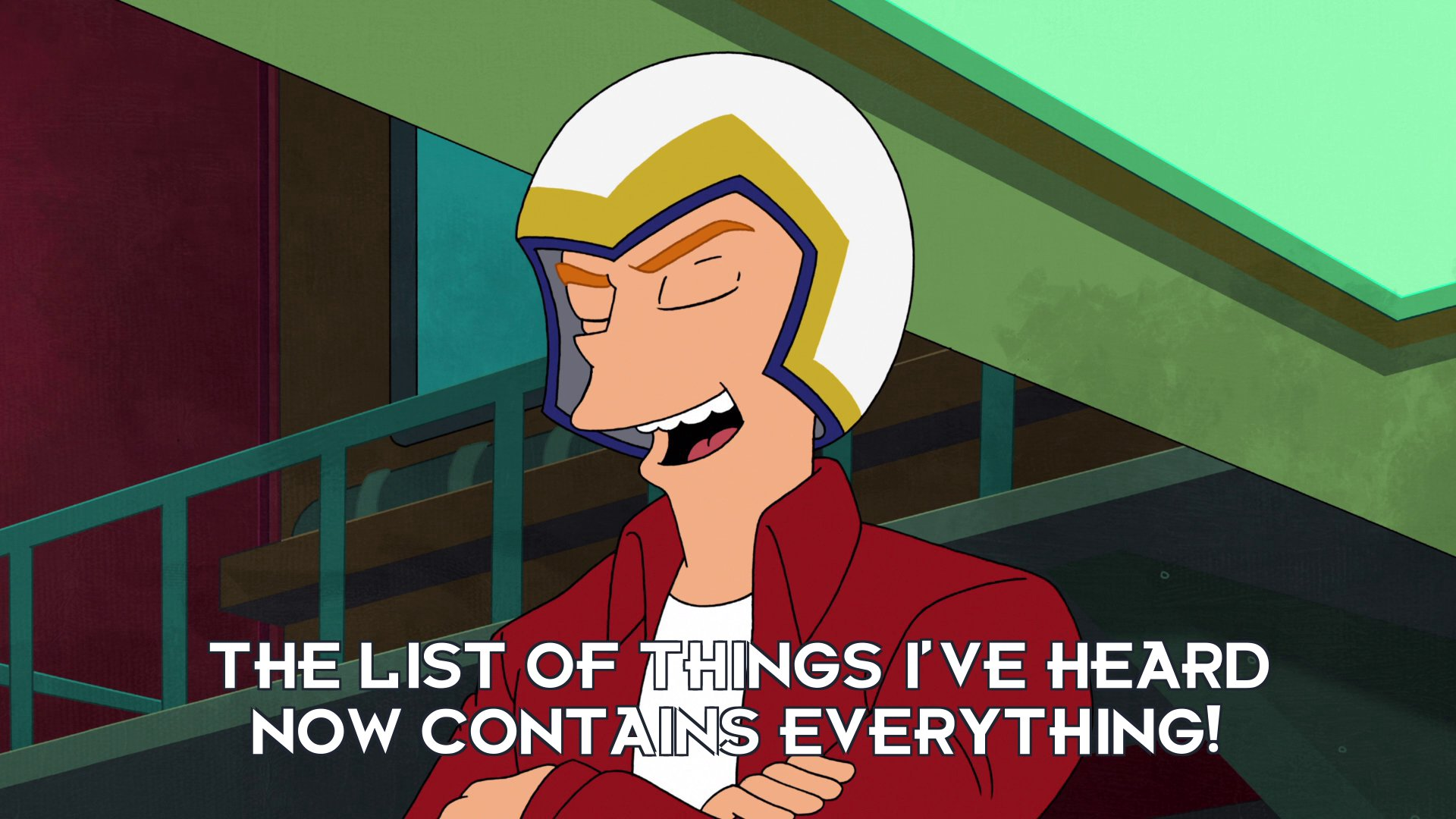 Philip J Fry: The list of things I've heard now contains everything!