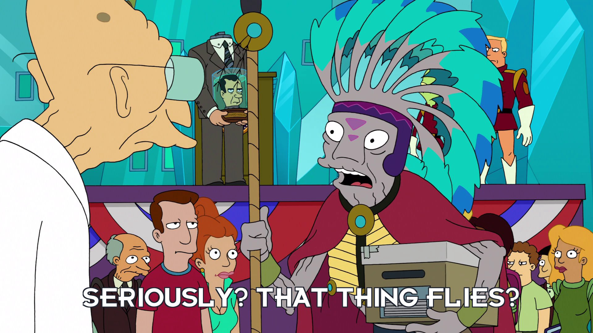 Singing Wind: Seriously? That thing flies?