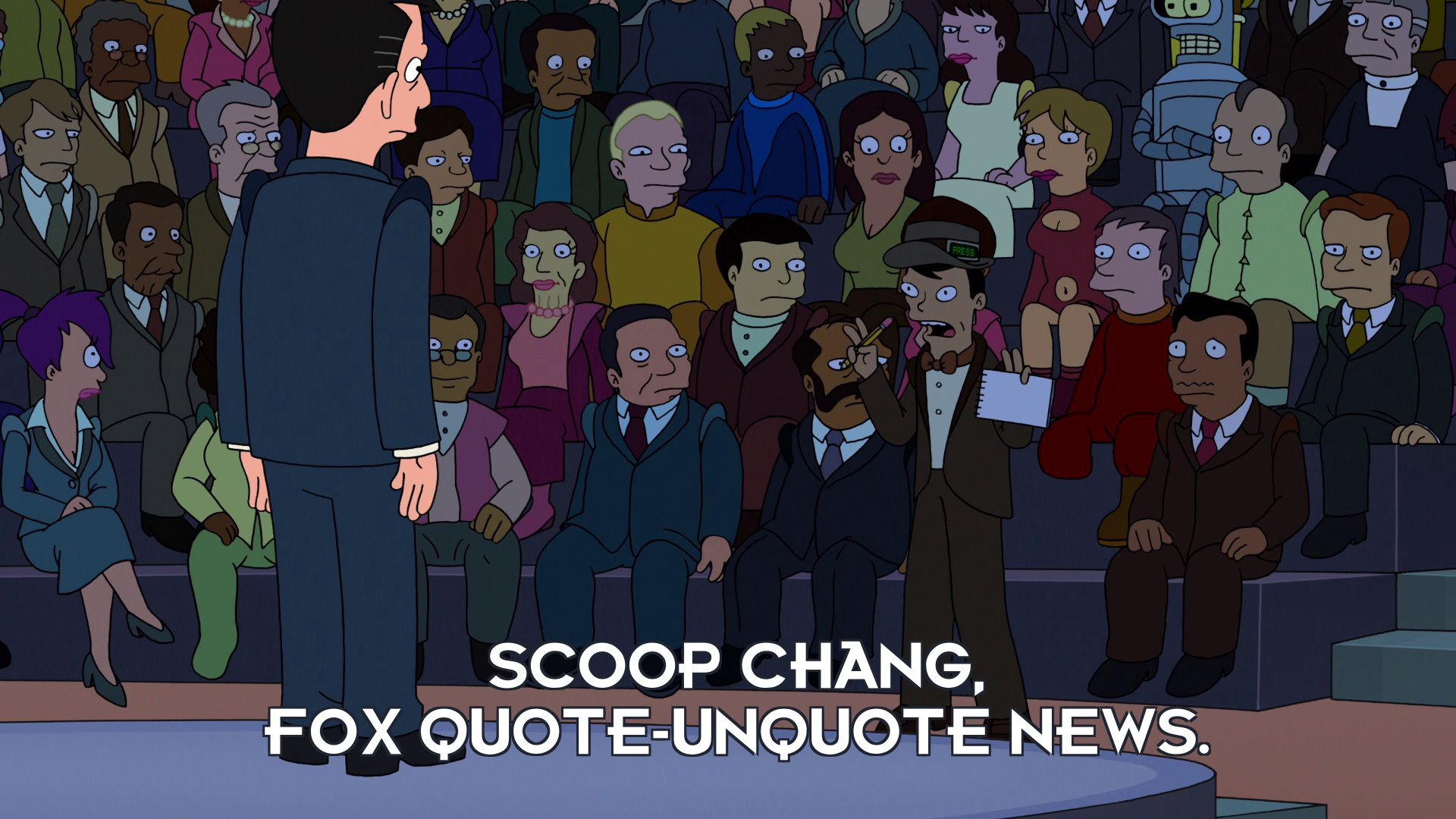 Scoop Chang: Scoop Chang, Fox quote-unquote News.