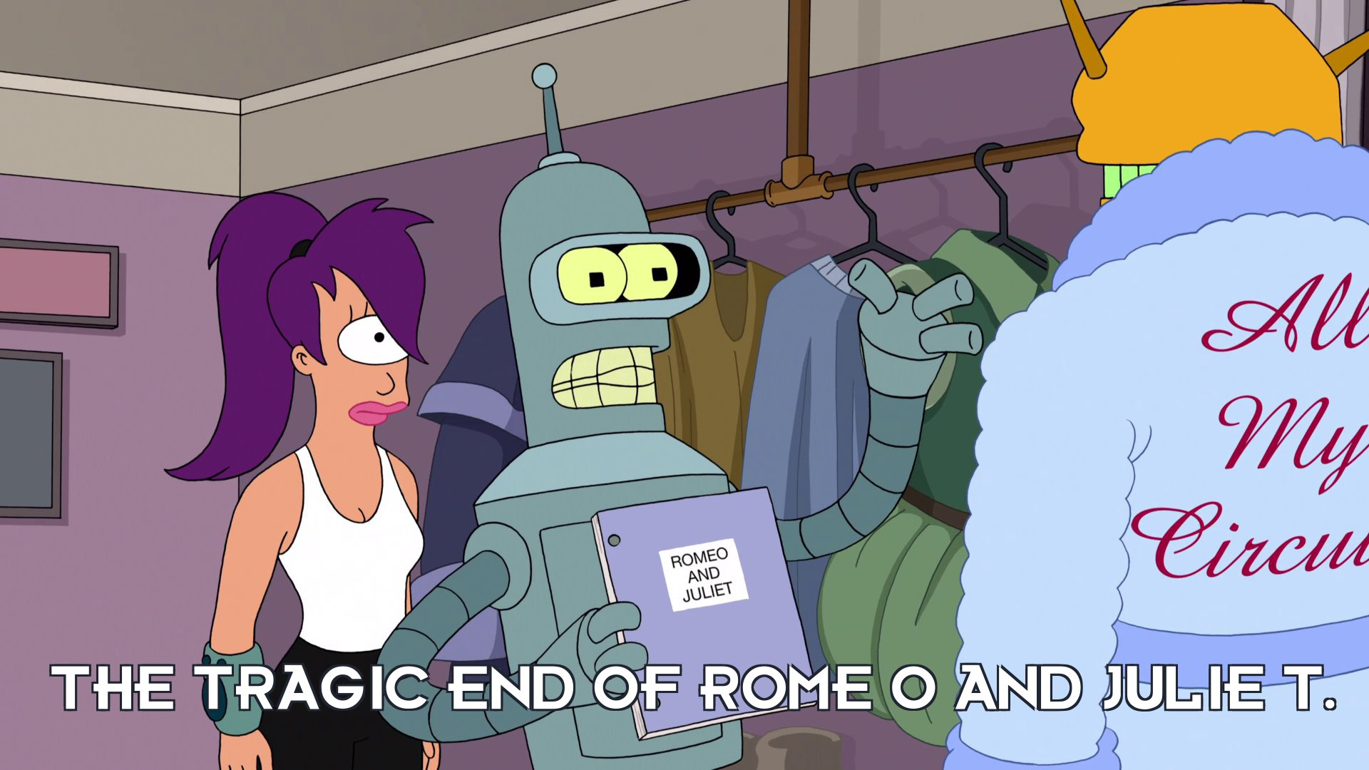 Bender Bending Rodriguez: The tragic end of Rome O and Julie T.