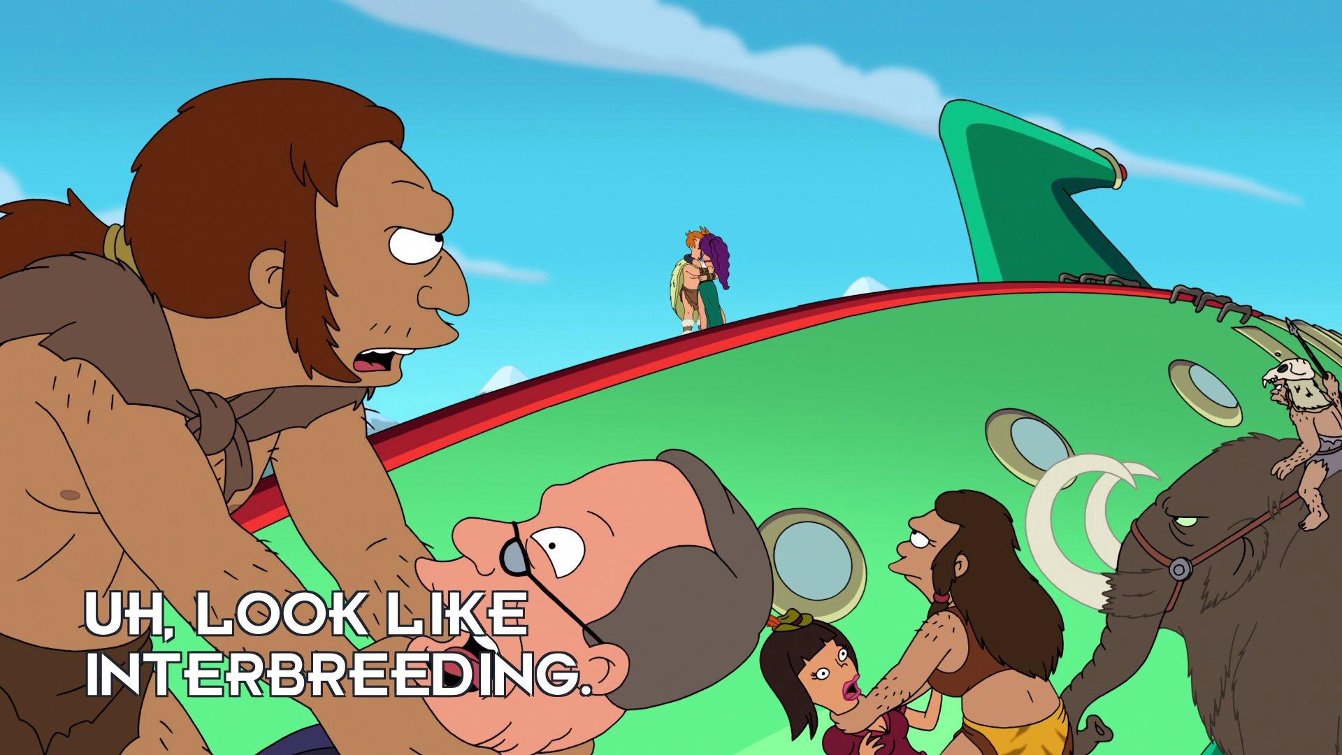 Neanderthal 2: Uh, look like interbreeding.