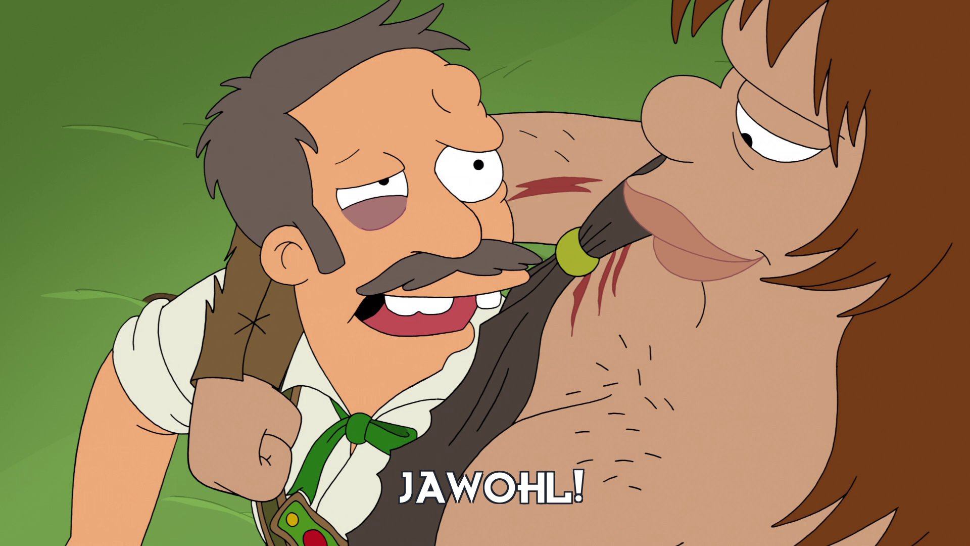 Man: Jawohl!