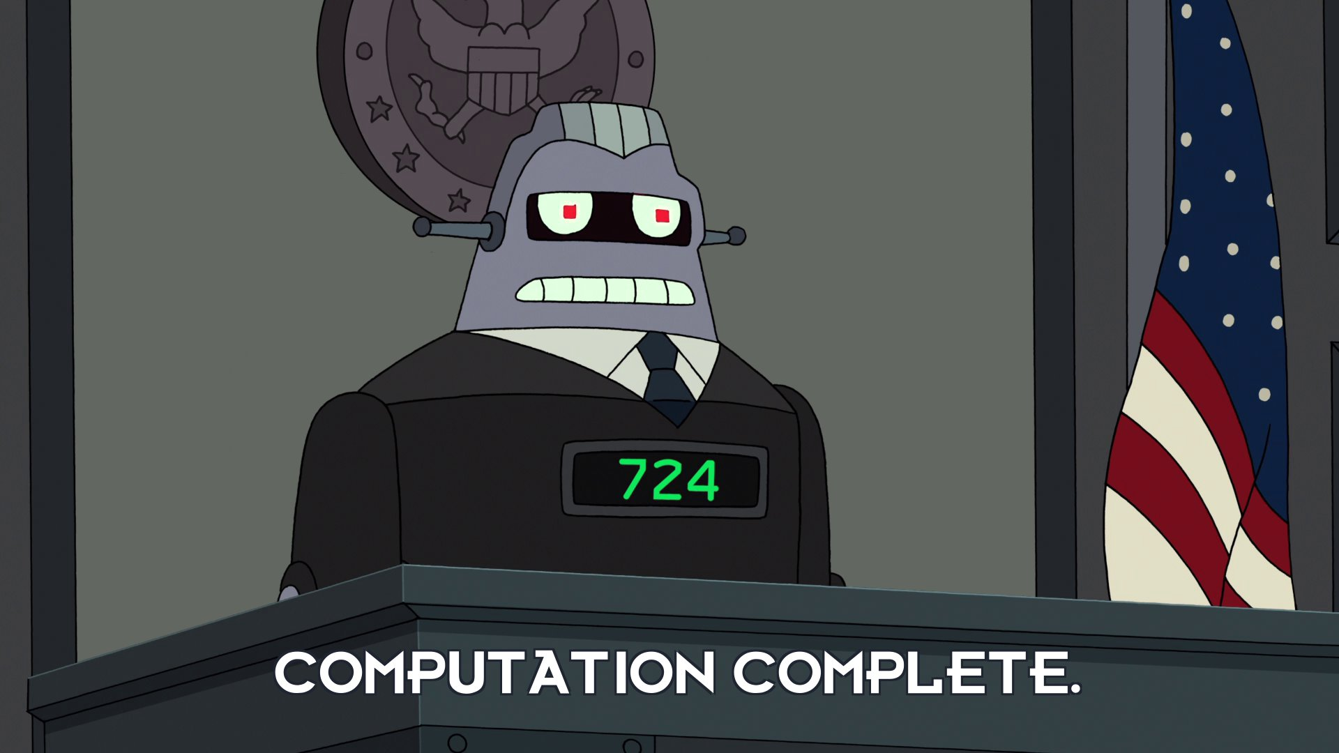 Judge 724: Computation complete.