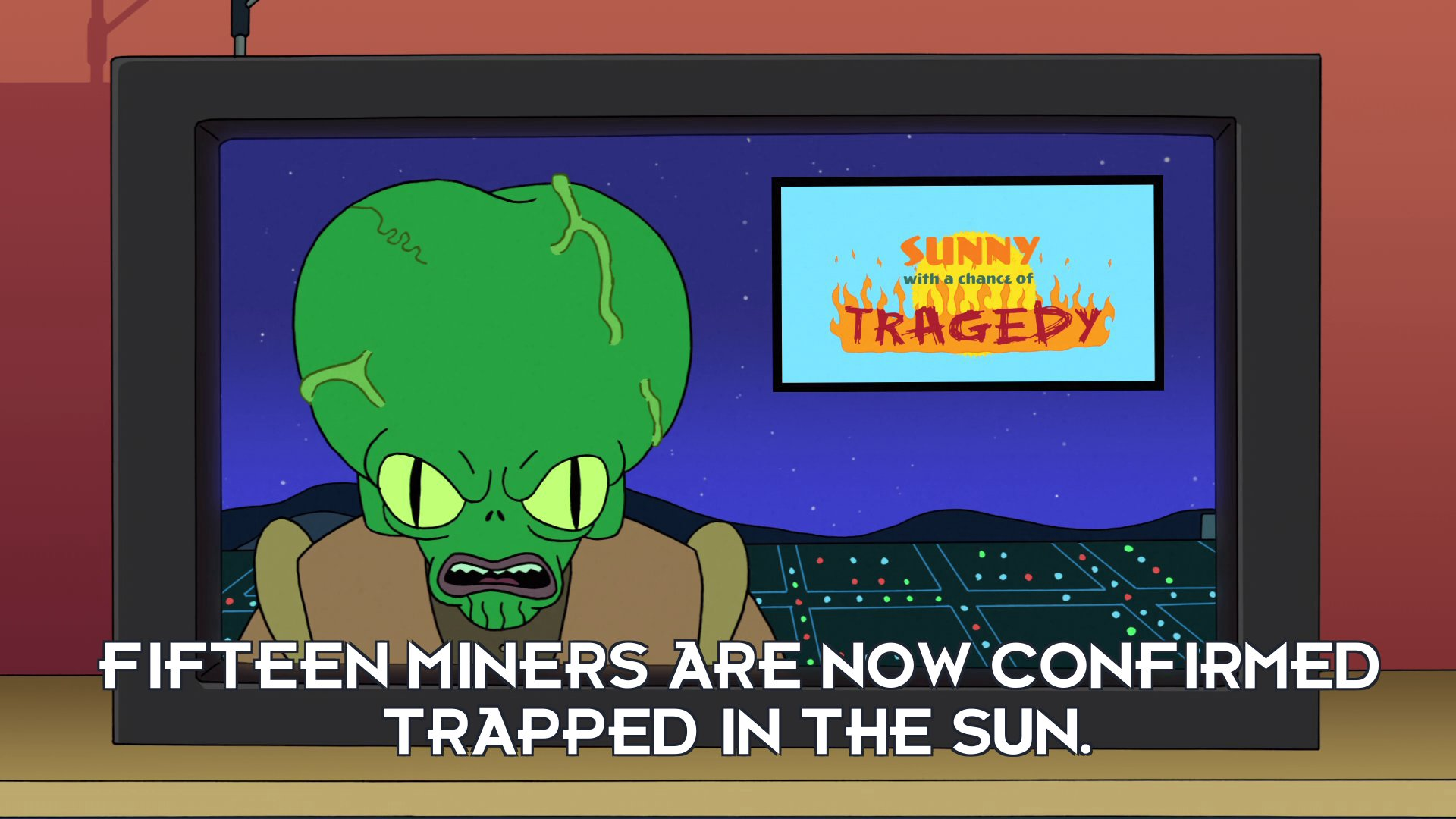 Morbo: Fifteen miners are now confirmed trapped in the Sun.