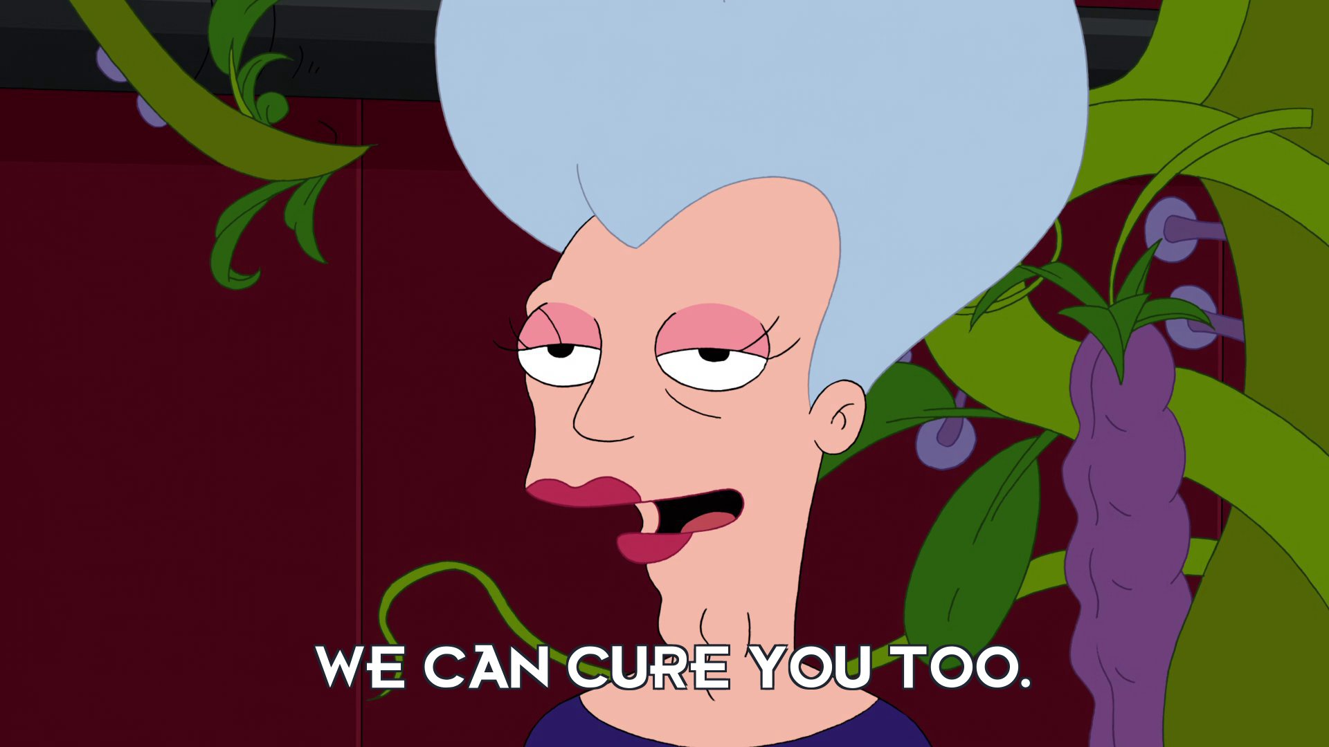 Mom: We can cure you too.